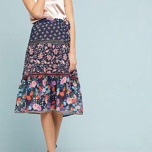 One September floral melody skirt NWOT